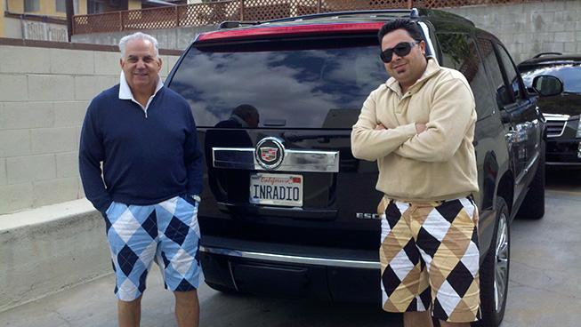 LOUDMOUTH PIC DAD AND ADAM